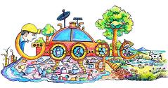 Конкурс «Дудл для Google 2016 – На транспорте будущего через всю страну»