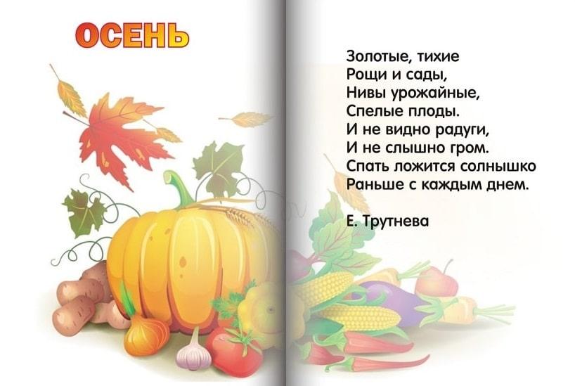 рисунке съедобные стихи про осень смартфонах хуавей