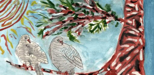Конкурс детских рисунков «Крылатые соседи, пернатые друзья»