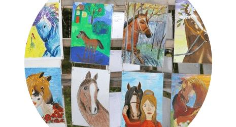 Открытый конкурс детско-юношеского творчества «Штрихи к портрету лошади»