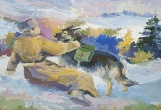 Всероссийский конкурс детских рисунков «Портрет фронтовой собаки»