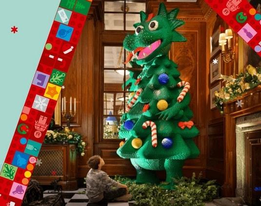 """Конкурс Лего и Детский мир: """"Построй свое новогоднее дерево"""""""