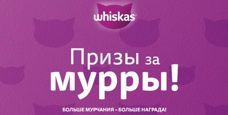 Акция Whiskas: «Призы за мурры!»