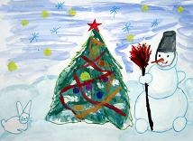 Конкурс детского рисунка «Новогодний подарок»