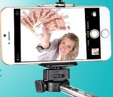 Фотоконкурс «Сфотографируйся с деньгами и выиграй 20 000 рублей»