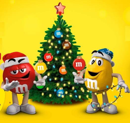 Акция M&M's: «Подарки перепутались! Найди свой!»